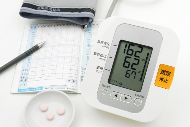 血圧計 高血圧の数値